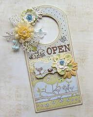 {Door Hanger} *NEW Prima*