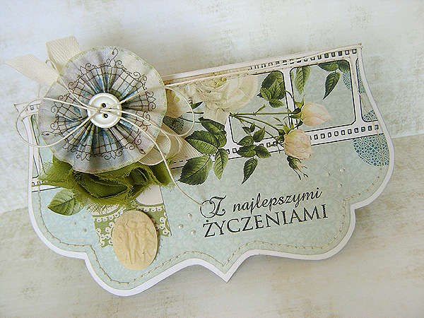 {With Best Wishes} card *NEW Webster's Pages*