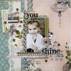{You always shine} *Webster's Pages*