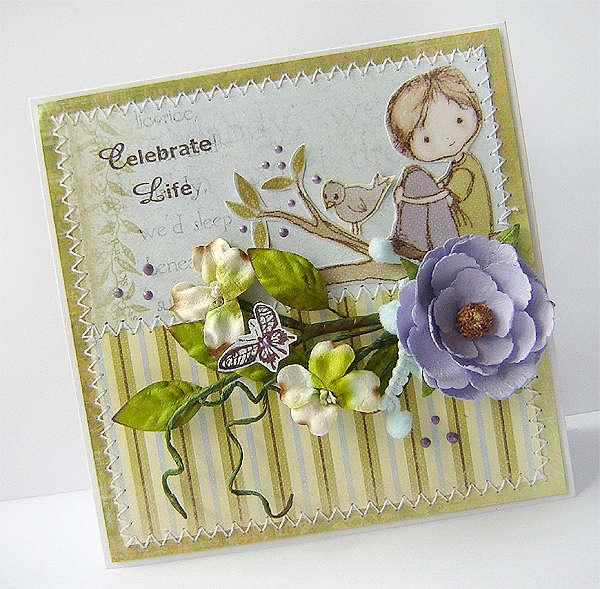 {Celebrate Life} card * Prima *