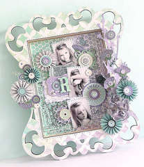 {Sweet} Wooden Shadowbox *Pink Paislee*