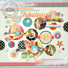 {Fabulous Fall} layout *Pink Paislee*