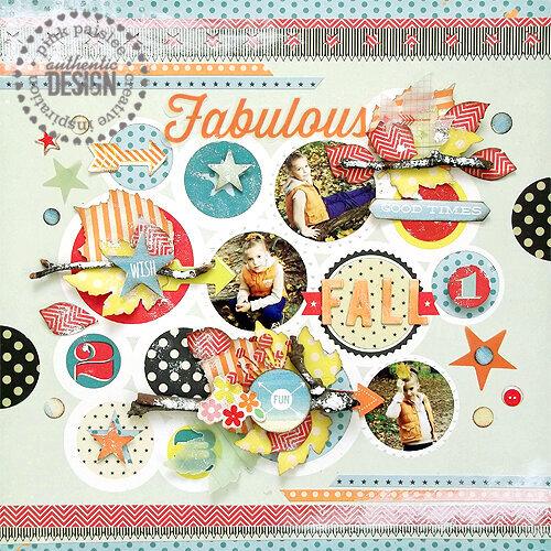 {Fabulous Fall} layout *Pink Paislee*