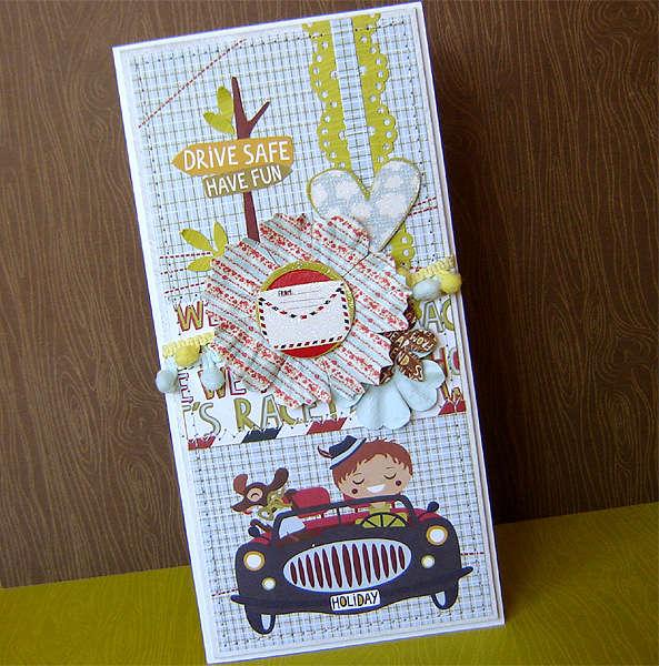{Drive Safe! Have Fun!} - card *Prima*