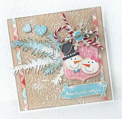 {Snow Day} card 6 *Pink Paislee*