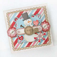 {Snow Day} card 5 *Pink Paislee*