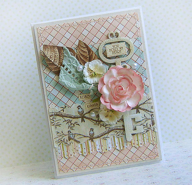 {You Hold My Heart} - card *Webster's Pages*