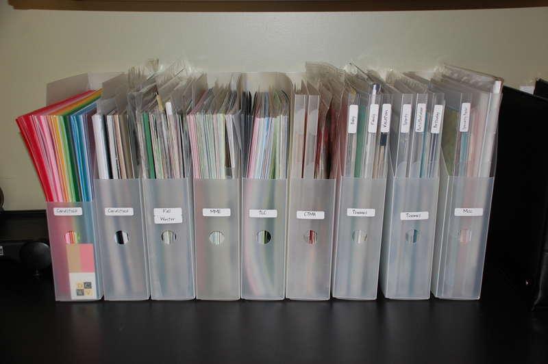 Vertical Paper Storage