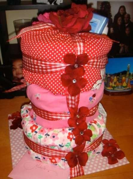 Michelle's Diaper Cake