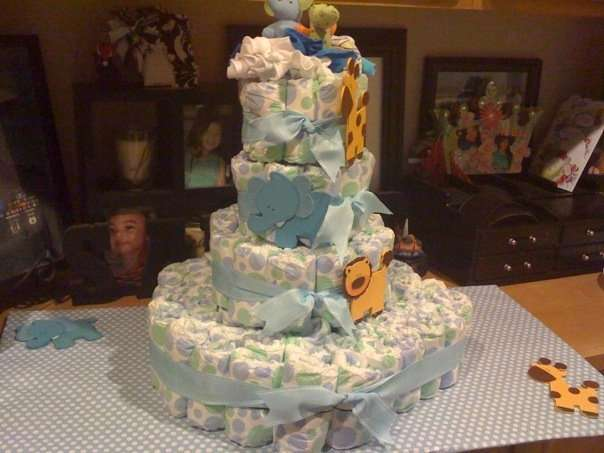 Christy's Diaper Cake