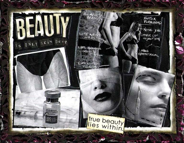 BEAUTY IS ONLY SKIN DEEP LADIES!! TRUE BEAUTY LIES WITHIN!!