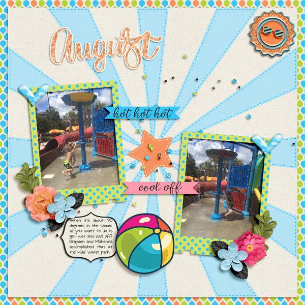 August - Hot Hot Hot!
