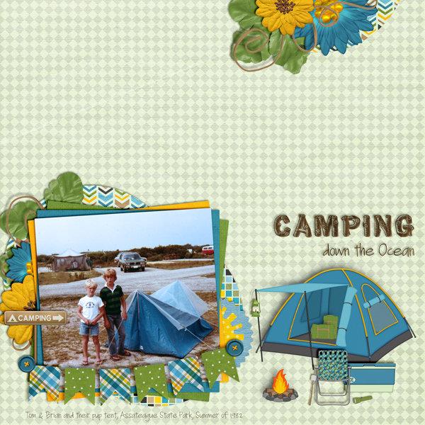 Camping down the Ocean