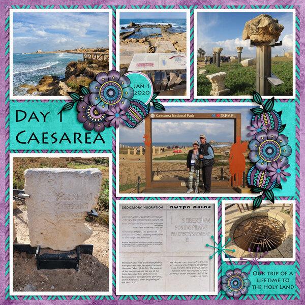 Day 1 - Caesarea