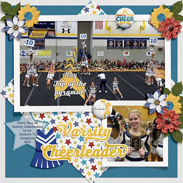 Varsity Cheerleader