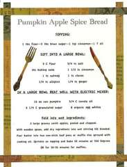 Cookbook Breads Pumpkin Apple Spice