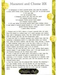 Cookbook Pasta Macaroni and Cheese