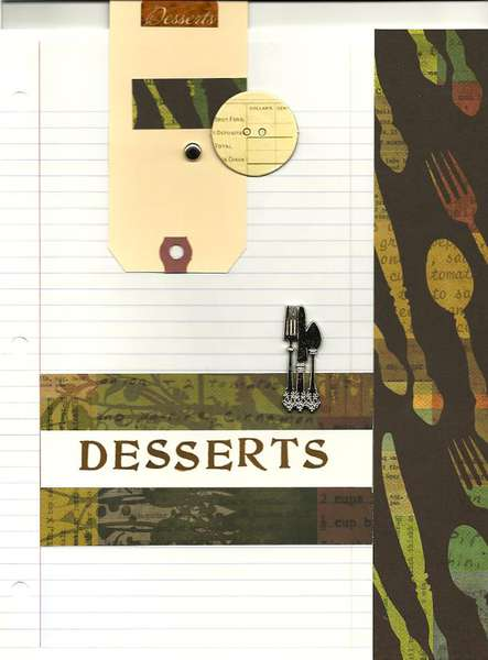 Cookbook Desserts