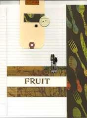 Cookbook Fruit