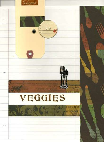 Cookbook Veggies
