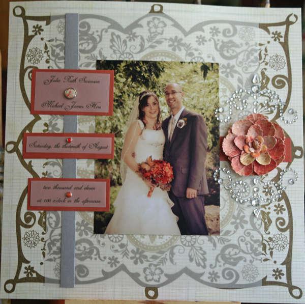 Title Page Wedding Album