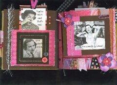 Drama Queen Paper Bag Album Page 1-2
