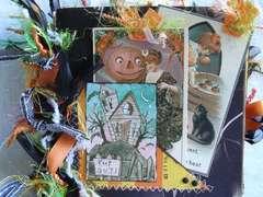 Halloween Paper Bag Album
