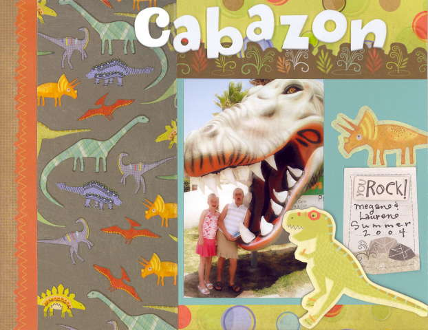 Imaginisce Dino Roar Collection Cabazon Layout