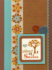 Imaginisce Apple Cider Collection Smiles Card