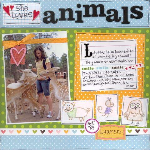 She Loves Animals