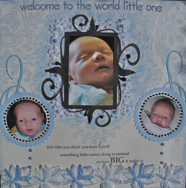 Welcome to the World....