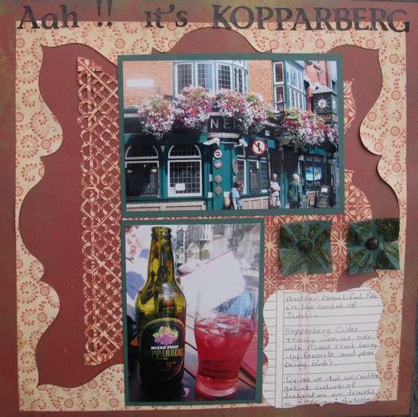 Aah!! its's Kopparberg