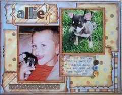Allie... Our New Puppy