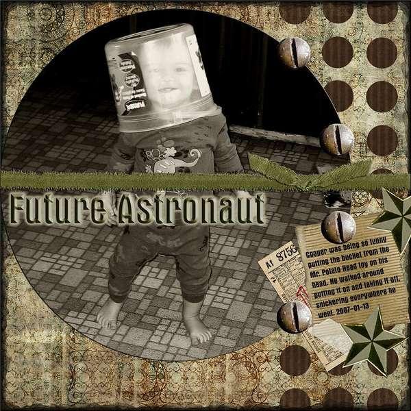 Future Astronaut - ADSR Challenge #7