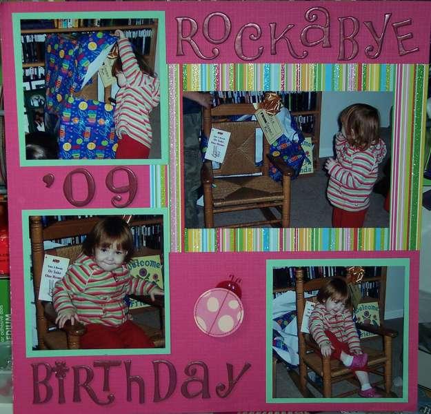 Rockabye Birthday