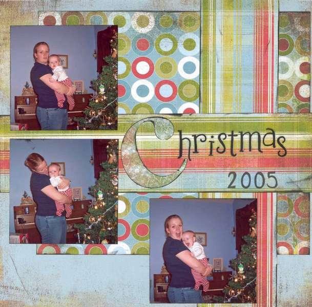 Christmas 2005 Mom & Jay