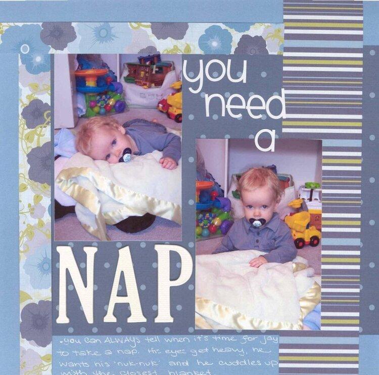 You need a NAP