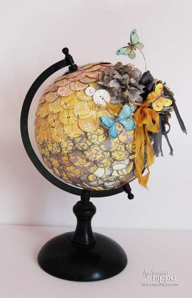 Altered Globe * Authentique Paper *