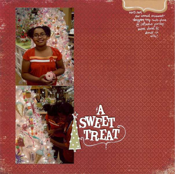 A Sweet Treat *Color Me Miki* Dec 2009