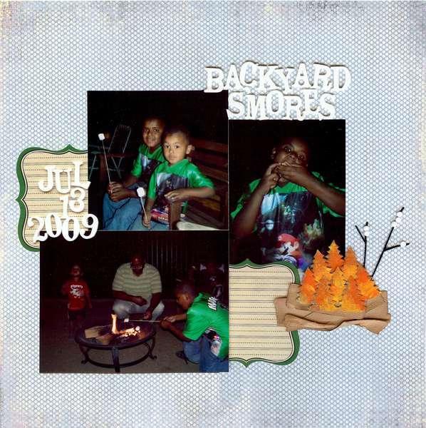 Backyard Smores *Color Me Miki * Dec 2009