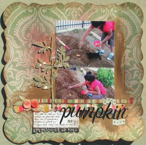 Grow Pumpkin Grow *Color Me Miki*