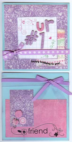 Crate Paper Cards Set