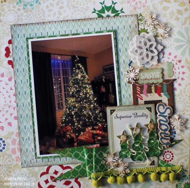 Snow - Epiphany Crafts DT
