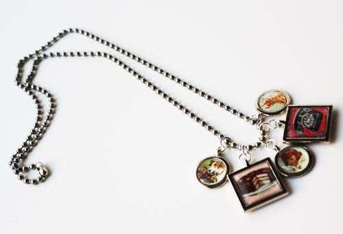 Favorites Charm Necklace * Epiphany Crafts DT*