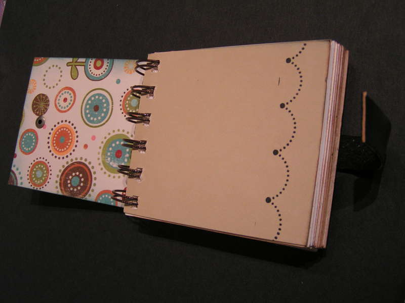 Journaling Spots Mini Book *ZUTTER Bind-It-All DT*