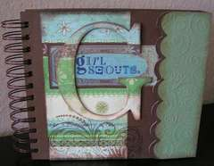 Girl Scouts 6x6 book