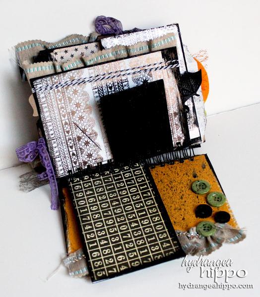 Halloween Mini Book by Jennifer Priest feat. May Arts Tombow