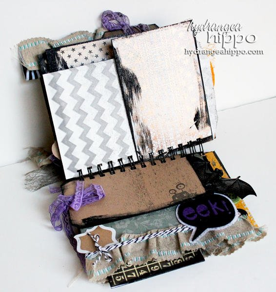 Halloween Mini Book by Jennifer Priest feat. May Arts Tombow