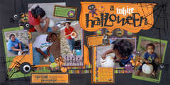 A White Halloween - Twenty Pages In One Day 2009