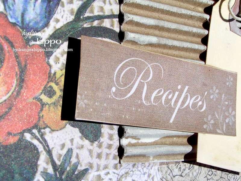 Recipes Mini Book * NEW Donna Salazar * NEW Zutter Bind It All